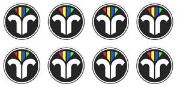 Schornsteinfegerbekleidung ziv emblem 5 farbig mit for Klebefolie farbig