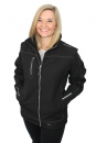 Softshell jacket with removable sleeves